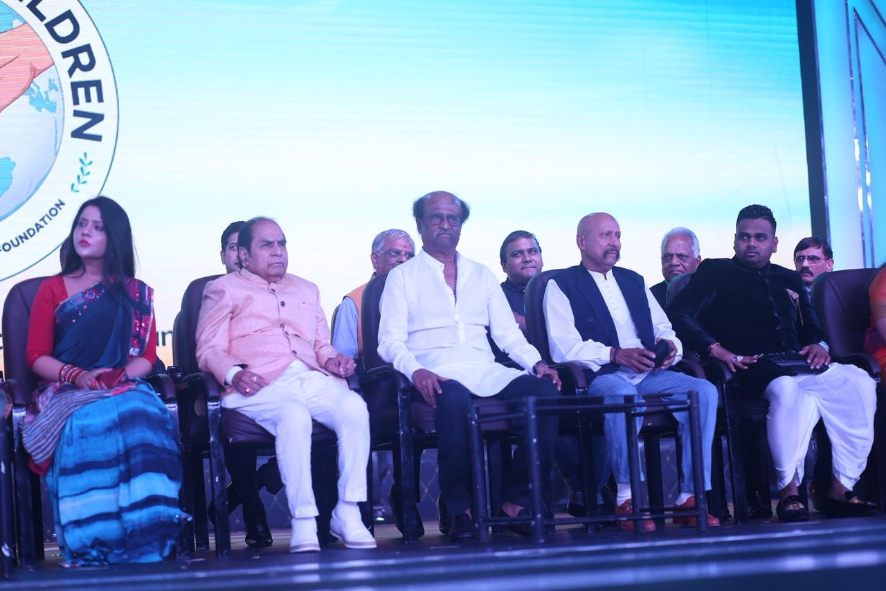 Rajinikanth @ Peace for Children Event Stills