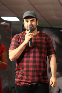 Actor Ashwin Babu @ Raju Gari Gadhi 2 Press Meet Stills