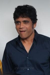 Actor Nagarjuna @ Raju Gari Gadhi 2 Press Meet Stills