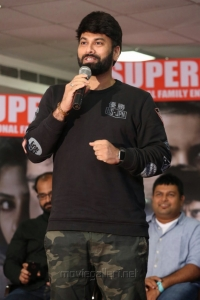 Director Omkar @ Raju Gari Gadhi 2 Success Meet Stills