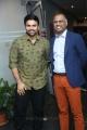 Ashwin Babu, Prasad V Potluri @ Raju Gari Gadhi 2 Success Meet Stills