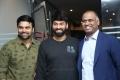Ashwin Babu, Omkar, Prasad V Potluri @ Raju Gari Gadhi 2 Success Meet Stills