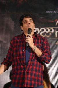 Nagarjuna @ Raju Gari Gadhi 2 Trailer Launch Stills