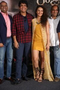 PVP, Nagarjuna, Seerat Kapoor @ Raju Gari Gadhi 2 Trailer Launch Stills