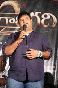 SS THaman @ Raju Gari Gadhi 2 Trailer Launch Stills
