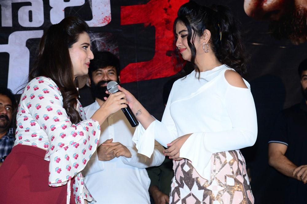 Manjusha, Avika Gor @ Raju Gari Gadhi 3 Trailer Launch Stills