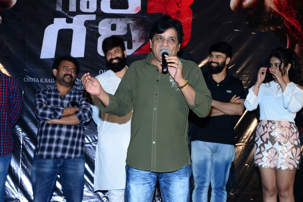 Raju Gari Gadhi 3 Trailer Launch Stills