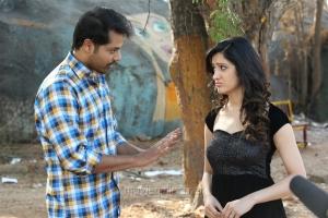 Nandu, Richa Panai in Rakshaka Bhatudu Movie Stills