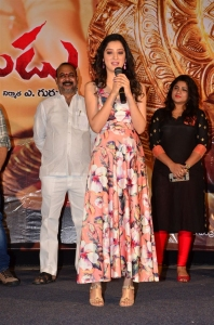 Actress Richa Panai @ Rakshaka Bhatudu Pre Release Function Stills