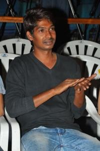 Dhanraj @ Rakshaka Bhatudu Trailer Launch Stills