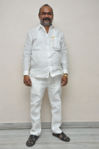 Producer A Gururaj @ Rakshaka Bhatudu Trailer Launch Stills