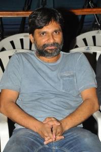 Director Vamsi Krishna Akella @ Rakshaka Bhatudu Trailer Launch Stills
