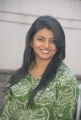 Beautiful Rakshita in green dress at Bus Stop Success Meet