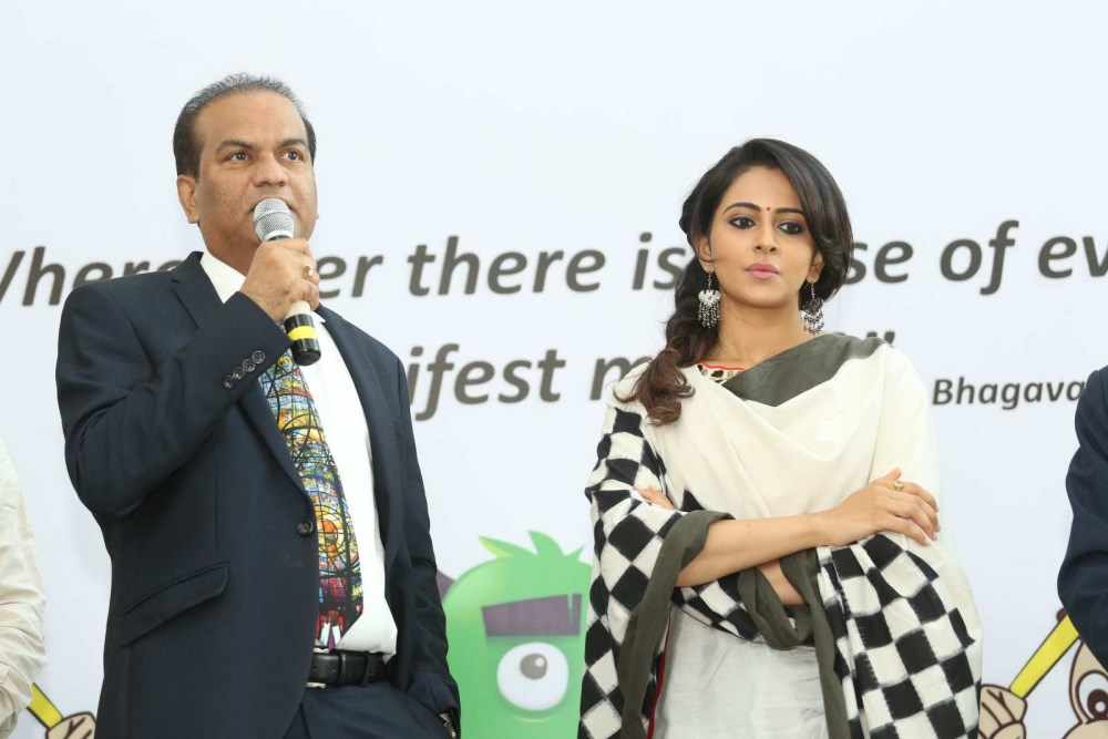 Rakul Preet Singh at Apollo Childrens Day Celebrations