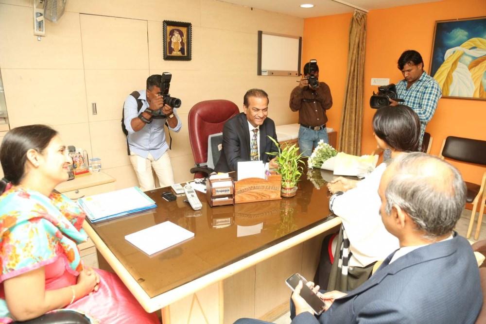 Rakul Preet Singh attends Chidren's Day celebrations at Apollo Cancer Hospital