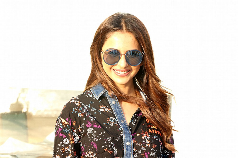 Actress Rakul Preet Singh Images @ De De Pyaar De Press Meet