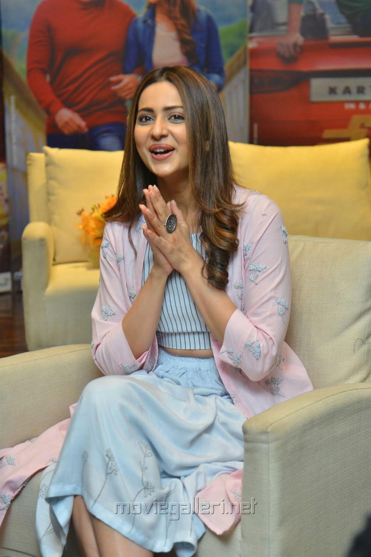Dev Movie Actress Rakul Preet Singh Interview Images