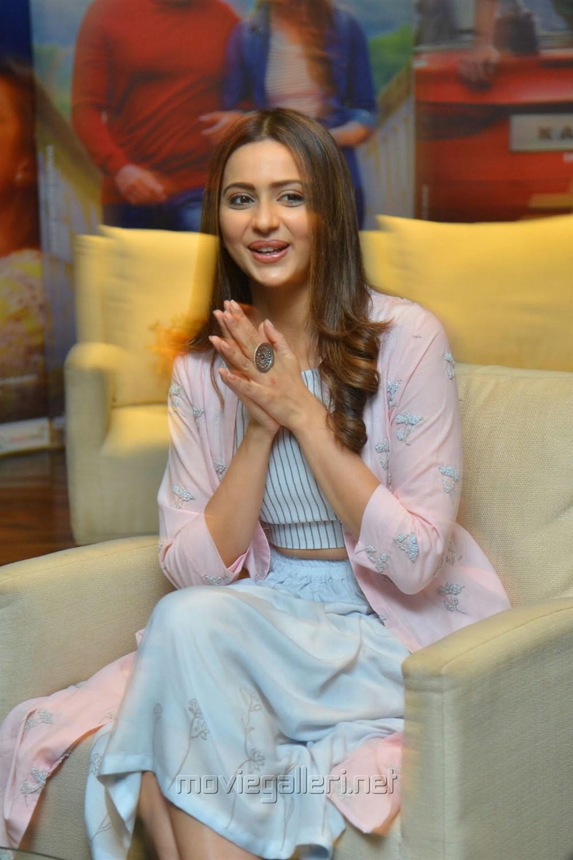 Dev Heroine Rakul Preet Singh Interview Images