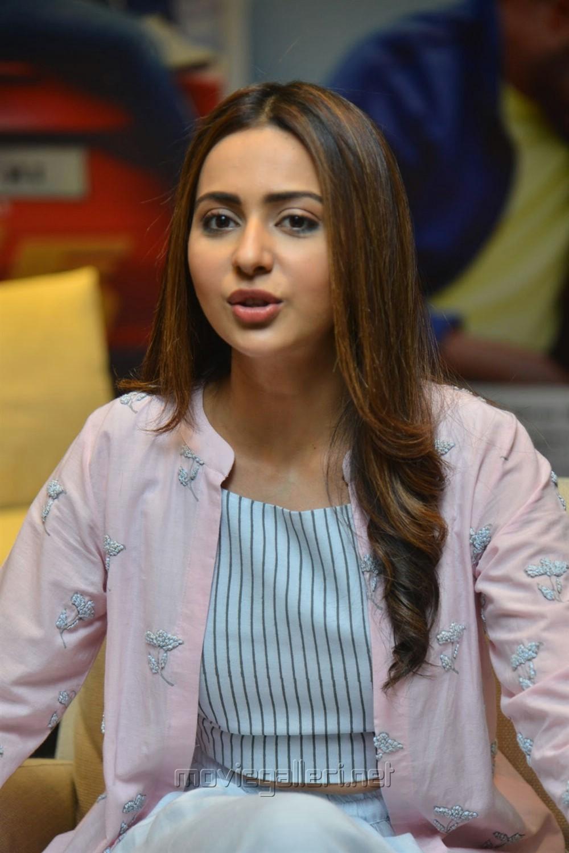 Dev Movie Heroine Rakul Preet Singh Interview Images