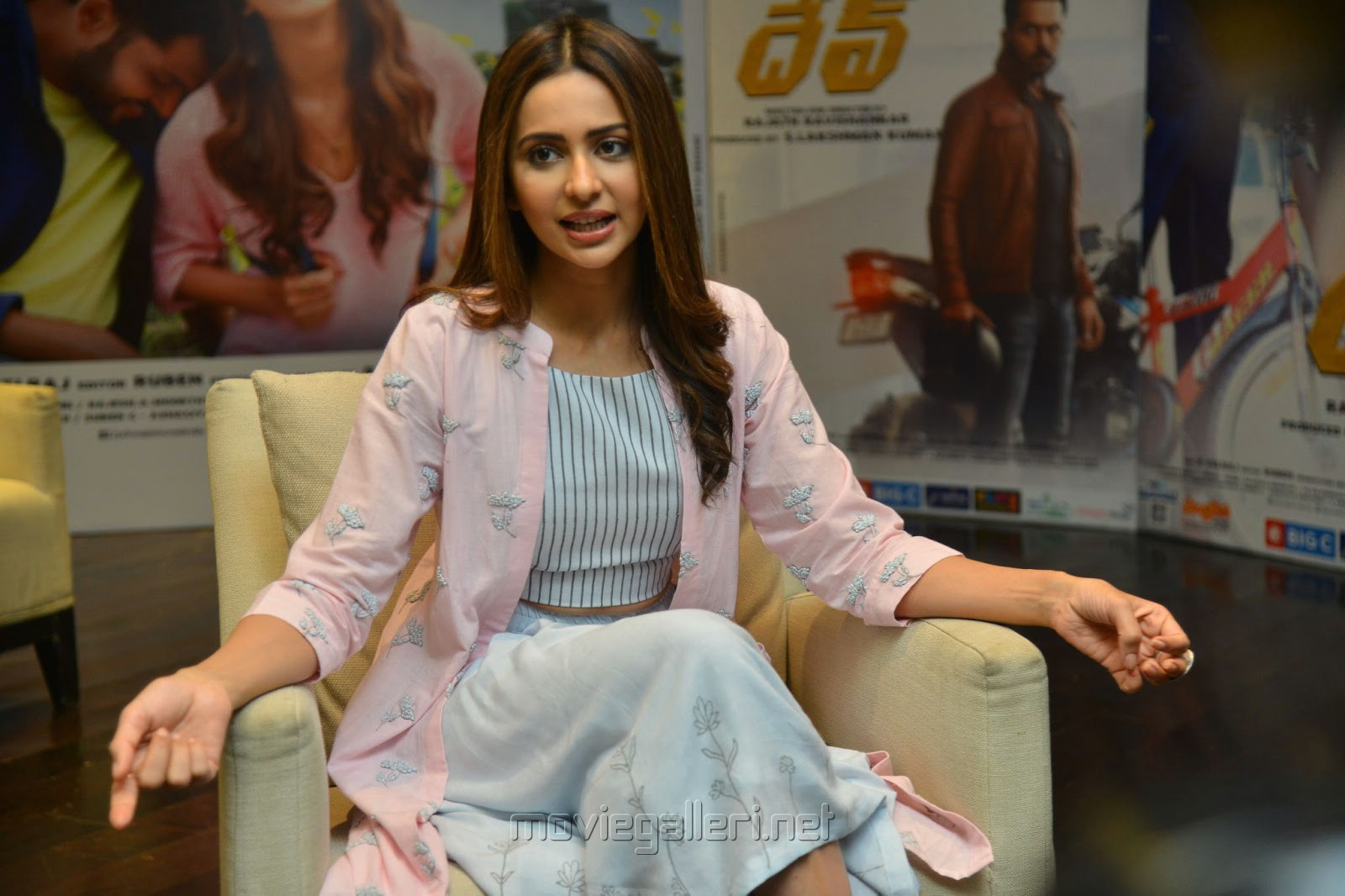 Dev Movie Heroine Rakul Preet Singh Interview Images