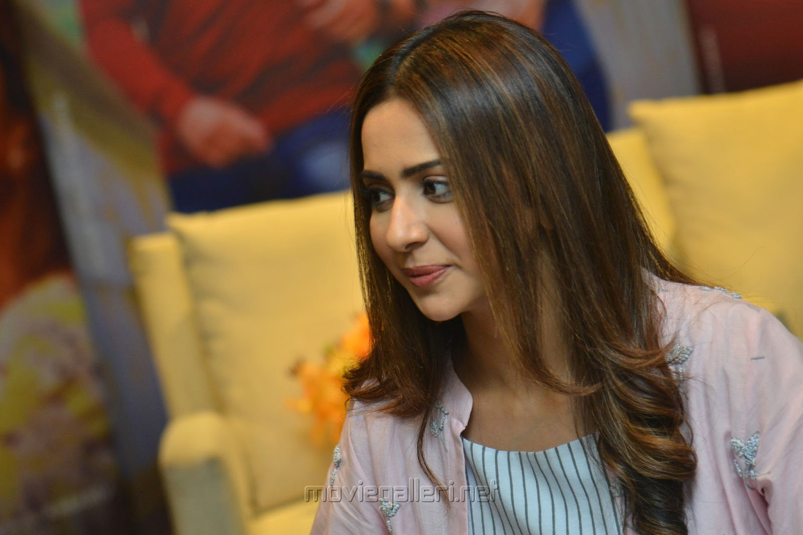 Dev Heroine Rakul Preet Singh Interview Images