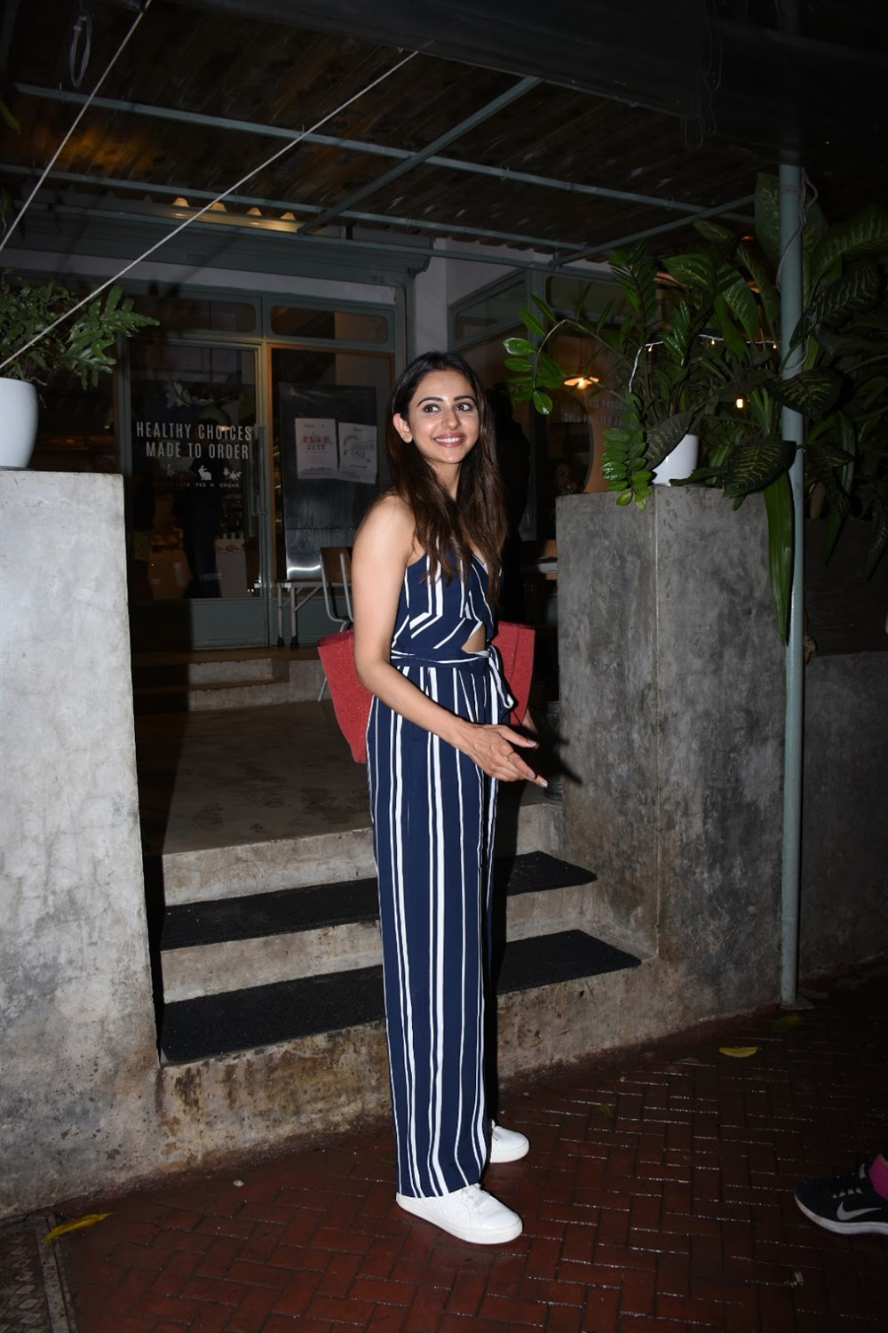 Actress Rakul Preet Singh @ Kitchen Garden in Bandra Photos
