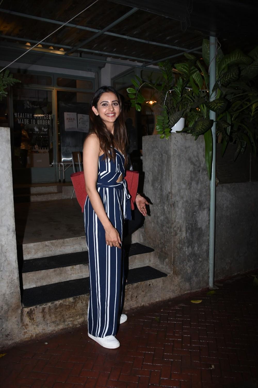 Actress Rakul Preet @ Kitchen Garden in Bandra Photos