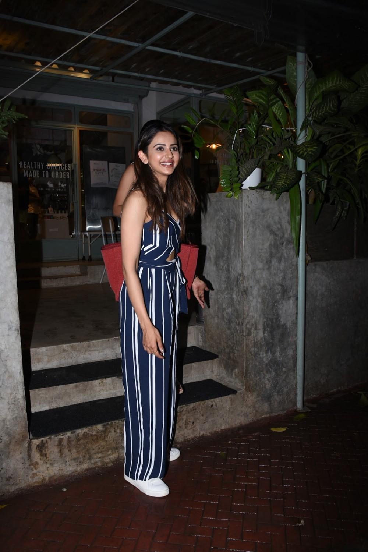 Actress Rakul Preet Singh @ Kitchen Garden in Bandra Photos
