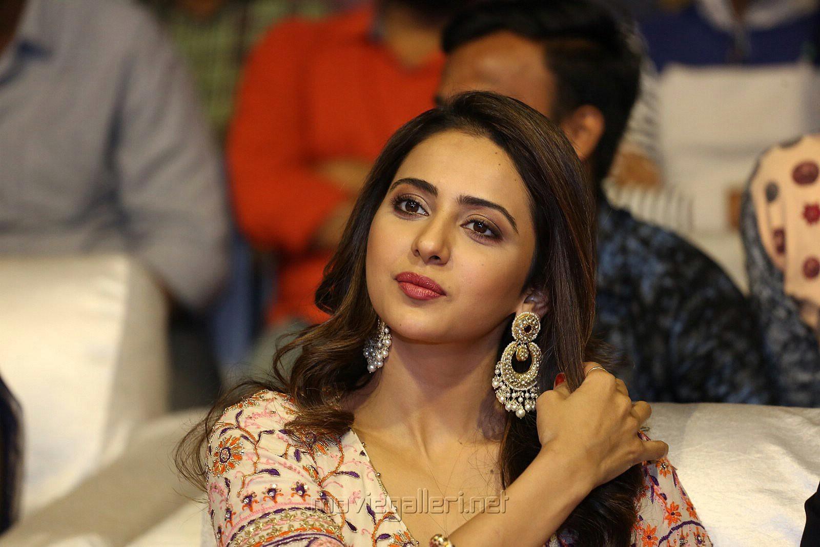Actress Rakul Preet Photos @ Dev Pre Release