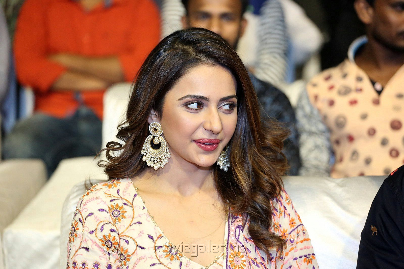 Actress Rakul Preet Photos @ Dev Pre Release