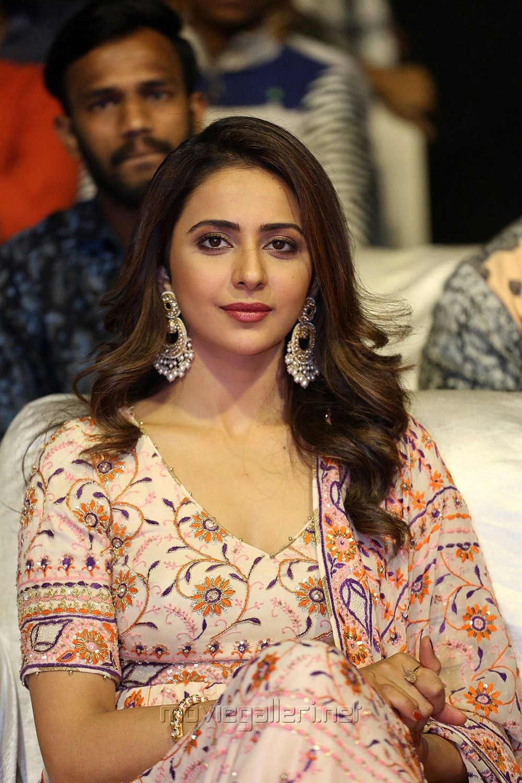 Actress Rakul Preet Singh Photos @ Dev Movie Pre Release