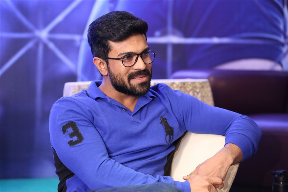 Actor Ram Charan Interview Photos about Dhruva Movie