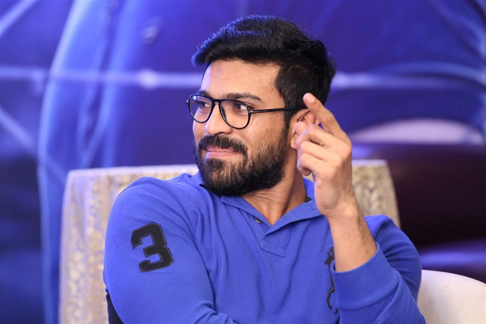Ram Charan Interview Photos about Dhruva Movie