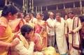Rajini & Ambarish at Ram Charan Marriage Pics
