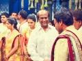 Rajini at Ram Charan Teja Marriage Photos