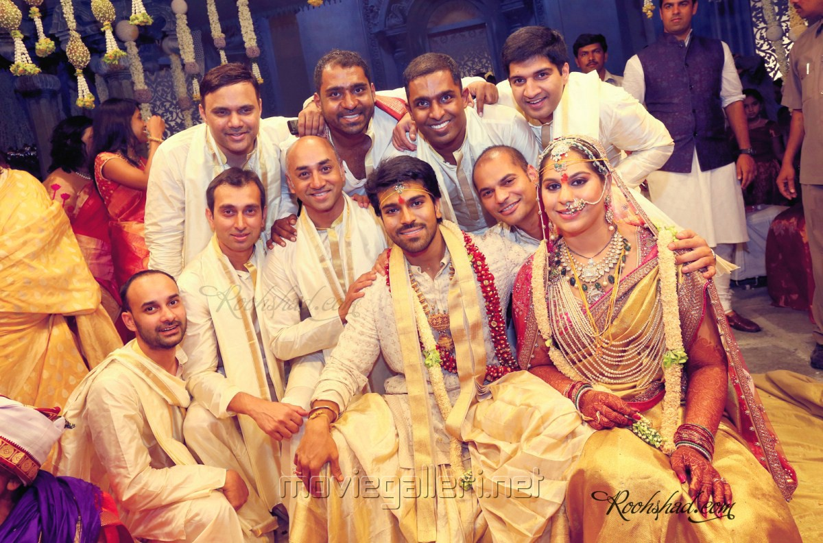 Picture 247625 : Ram Charan Teja Marriage Photos : New ...