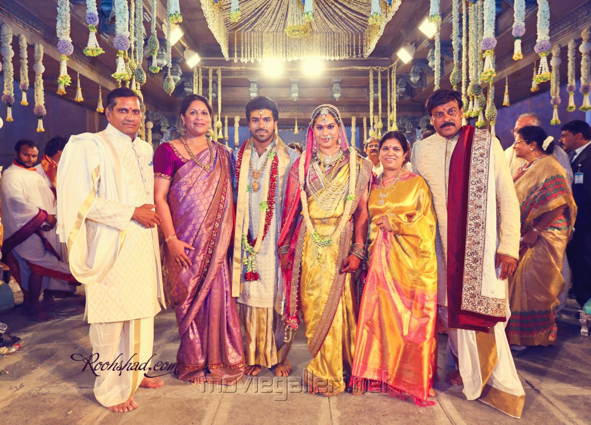 Picture 247630 Ram Charan Teja Marriage Photos New