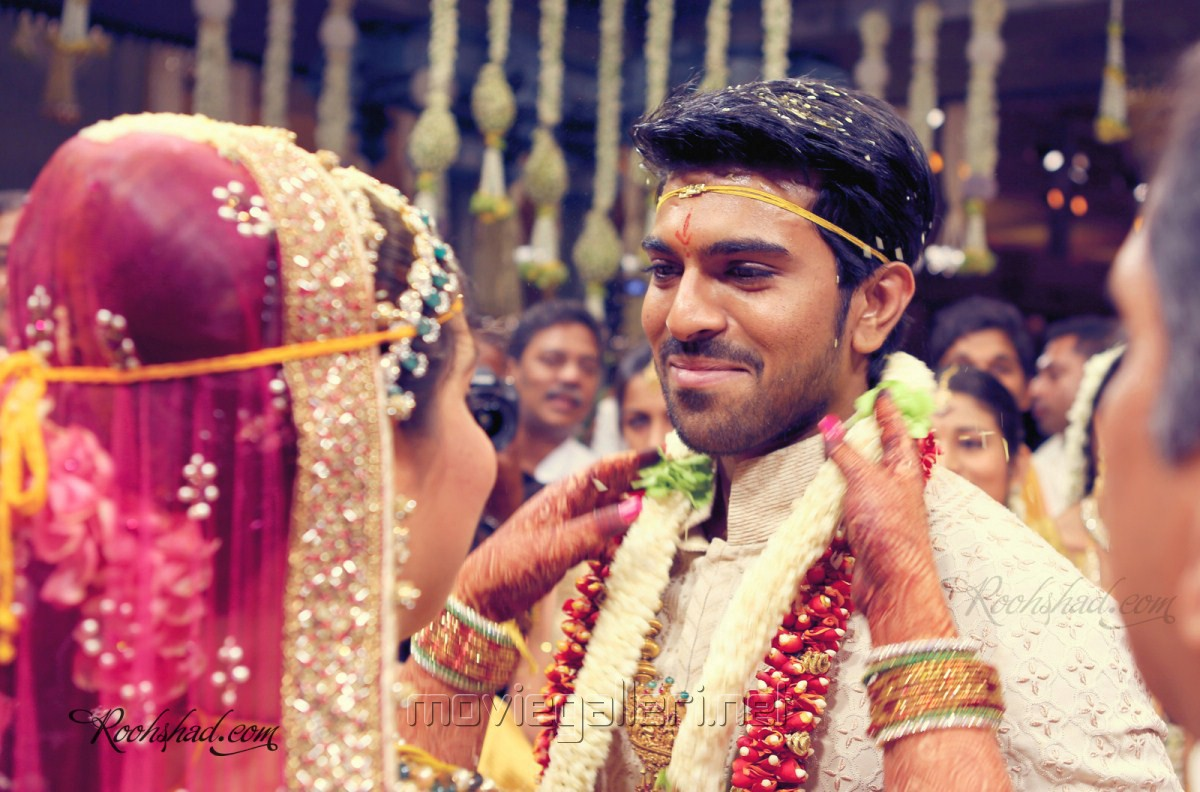 The Gallery For Gt Telugu Actor Ram Charan Marriage Photos