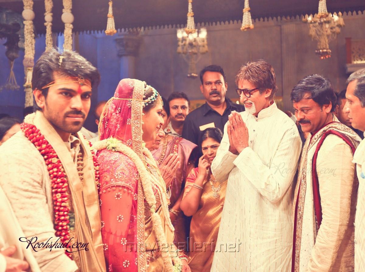 Amitabh Bachchan at Ram Charan Upasana Marriage Pics   Gallery View  Amitabh Bachchan Marriage Photos