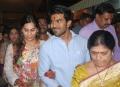 Ram Charan, Upasana visits tirupati after wedding reception