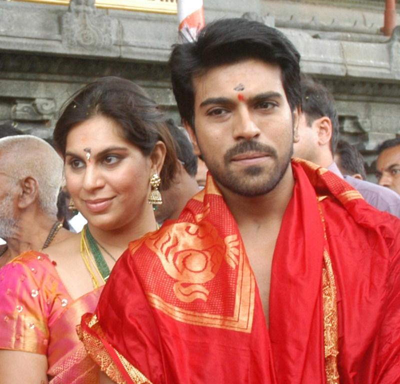 Picture 250764 Ram Charan Teja Upasana At Tirupathi