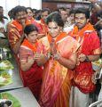 Ram Charan Teja and Upasana Kamineni Visits Tirumala Temple