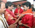 Ram Charan Teja & Upasana Kamineni @ Tirumala Tirupati Devasthanams