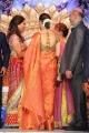 Actress Tamanna at Ram Charan Teja Marriage Reception Stills