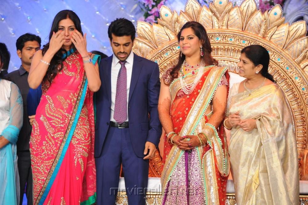 Picture 248104 Actress Tabu At Ram Charan Upasana