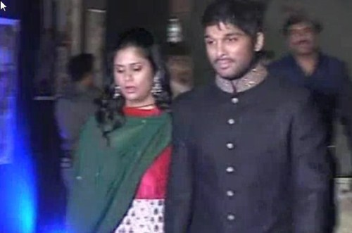 Picture 246009 Allu Arjun With Wife Sneha Reddy At Ram