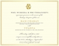 Ram Charan Teja Wedding Card Images
