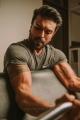 Telugu Actor Ram Charan's Workout at Gym Photos