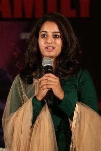 Actress Nanditha Raj @ Ram Leela Movie Success Meet Stills