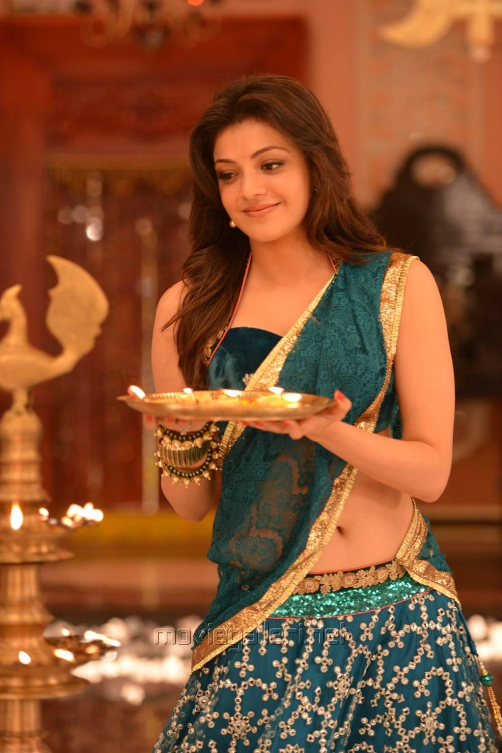 Picture 825706 Actress Kajal Agarwal In Ram Leela Tamil